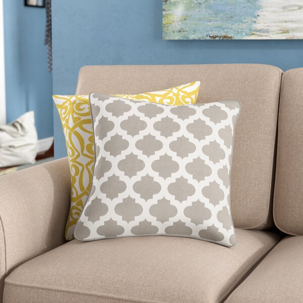 Conatser 100% Cotton Throw Pillow Cover by Charlton Home